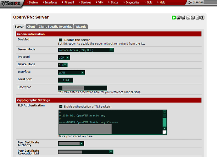 Easy OpenVPN configuration goal suggestions - Turris Omnia - Turris
