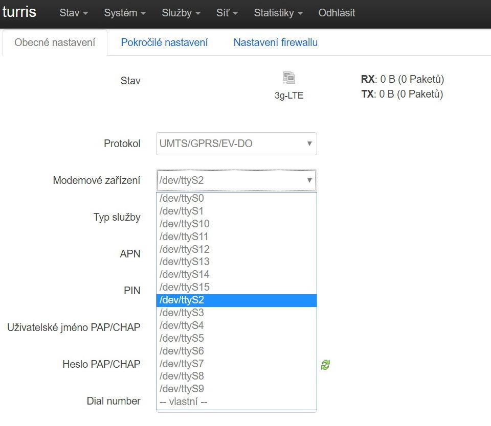 LTE modem typu EC25-E MINIPCIE - Turris HW help [CZ